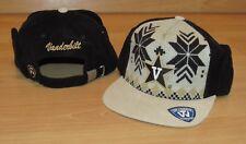 Vanderbilt Commodores Ugly Sweater Ear Flaps Strapback Trooper Hat Cap Men's