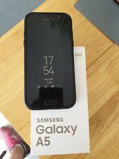 Samsung Galaxy A5 (2017) - 32GB - Black (EE) bundle