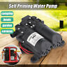 12V 5.5LPM Self-Priming Water Pump High Pressure Caravan Camping Outdoor Boat