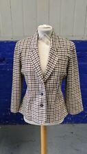Ladies Tweed Style Wool Blazer Jacket by Principles Petite Size 8