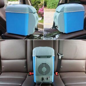 12v Portable Mini Car Freezer Cooler Warmer Electric Fridge Travel Box 7.5L UK