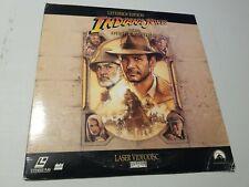 Indiana Jones and the Last Crusade Letterbox 2-Disc Set Laserdisc LD