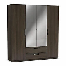 Modern MDF/Chipboard Wardrobes with 4 Doors
