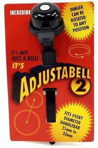 Incredibell Adjustabell 2 Bell, Black