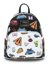 Loungefly Disney Sensational 6 Goofy Mickey Minnie Mouse Donald Mini Backpack