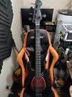 Harley Benton MB-5 5-String Bass Matte Black StingRay for sale