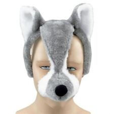 Noisy Wolf Mask With Sound FX Animal Fancy Dress Costume Accessory  P2522