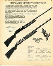 1970 Print Ad of Ithaca-SKB Model 300 & 900 Automatic Shotgun