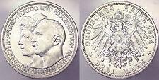 3 MARK 1914 A ANHALT DESSAU GERMANIA GERMANY KM#30 ARGENTO SILVER #5600A