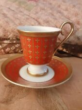 Hochst Eremitage Carl Faberge 1900 Exposition Universelle Paris Cup & Saucer
