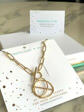 Wanderlust & Co Infusion Gold Stainless Steel Minimal Choker Chain Necklace