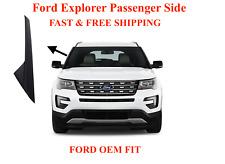 2011-19 Ford Explorer Windshield-Outer Trim Pillar Molding Passenger Right Side
