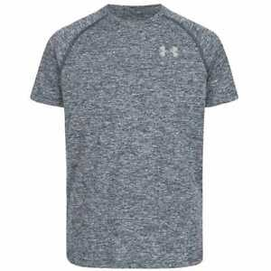 Under Armour Tech Kinder Sport Fitness T-Shirt 1323891-408 Gr. 128 grau neu