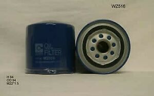 Wesfil Oil Filter WZ516 fits Iveco Daily IV 29L10 V, 35S14 C, 35S14 C/P, 35S1...