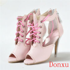 "For evangeline ghastly resin shoes 19"" Tonner doll Pink boots 15AS05"