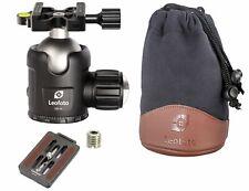 LEOFOTO NB-46 X 46mm Ball Head Arca/RRS Compatible Click Stop Tension Control