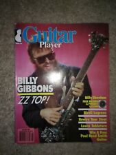 GUITAR PLAYER MAGAZINE MARCH 1986 FEATURING BILLY GIBBONS