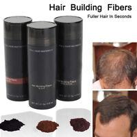 Épaississant Cheveux Fibre Poudre Keratin Construire Anti-chute Cheveux Unisexe
