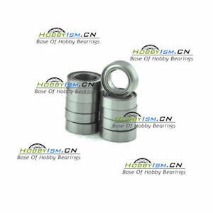 """10pcs R166ZZ 3/16"""" x 3/8"""" x 1/8"""" Metal Shield Ball Bearings ABEC-3"""