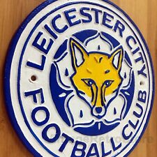 Leicester City Sign FA Cup Winners 2021 The Foxes Large Repro Plaque