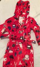 Hatley Boys Winter Fleece Robe, Age 4-5 Rrp £30