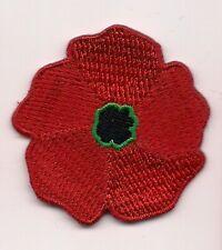 Remembrance Day Souvenir Patch Poppy