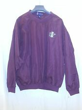 Rome Braves Maroon Tradin' Post Collection Vantage Warmup Pullover Jacket Size L