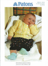 Patons Baby Sweaters/Clothes Crocheting & Knitting Patterns
