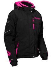 Castle X Powder G2 Womens Snow Jacket Black/Pink Glo