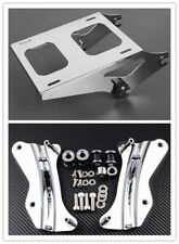 Two Up Tour Pack Mount Luggage Rack W/  Docking Hardware Kit For Harley Touring