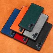 Handmade Alcantara Leather Case Cover For Samsung Galaxy Note S20 S10 Edge Plus