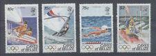 JO LOS ANGELES Cayes de Belize 4 val de 1984 ** NATATION OLYMPICS
