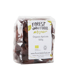 Forest Whole Foods Organic Sun Dried Apricots  (Free UK Delivery) 500g