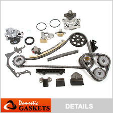 99-07 Suzuki Grand Vitara XL7 2.7L 2.5 Timing Chain Oil&Water Pump Kit H25A H27A