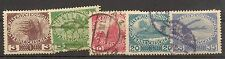Austria   1915      Ivert  138/142   Serie Completa       NL693