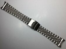 NEW SOLID 22MM JUBILEE WATCH BAND STAINLESS STEEL BRACELET STRAP FOR SEIKO