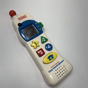 VTech Little Smart TINY TOUCH phone!