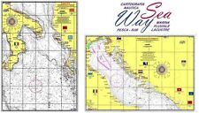 CARTA NAUTICA SEAWAY NP701-NP702 1:750000 ADRIATICO E IONIO