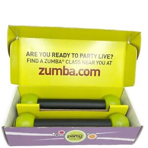 Zumba 1 LB Toning Sticks in Box Join the Party