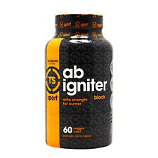 NEW Ab Igniter  BLACK Thermogenic Fat Burner Top Secret Nutrition 60 Capsules