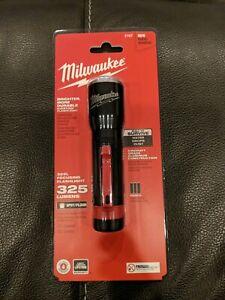 Milwaukee 2107 - 325 Lumens LED 325L Focusing Flashlight Brand NEW SEALED IN PKG