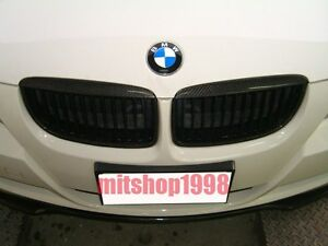 BMW E90 E91 06-07 328I 335I CarbonFiber Front Grilles