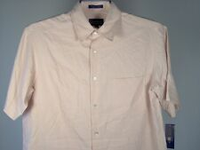 Club Room Silk Blend Camp Shirt Carnation M Men New NWT