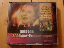 Sing die großen Damen des deutschen Chansons Goldene Schlager Erinnerungen  3CD
