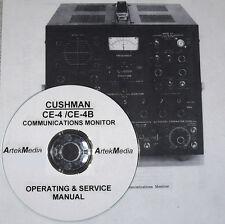 Cushman Ce-4 / Ce-4B Operating & Service Manual