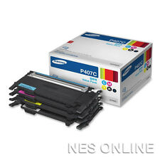 Samsung 407 SET 4x Toner for CLP-320/CLP-320N/CLP-325/CLP-325W/CLX-3185/CLX-3180