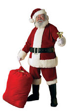 Deluxe Velvet Santa Suit Men's Costume X-Large ( Fits Jacket Size 50-56 )