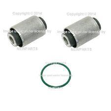 For BMW E36 E46 E83 E85 E86 Rear Inner Lower Set of 2 Control Arm Bushing+O Ring