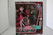 MONSTER HIGH CLAWD WOLF & DRACULAURA MUSIC FESTIVAL 2 PACK DOLLS EXCLUSIVE NEW