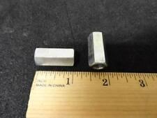 """Coupling Nut / Standoff Steel Zinc 3/8-16 x 1/2 Hex, 1-1/8"""" L Fem-Fem Qty-2 G31"""